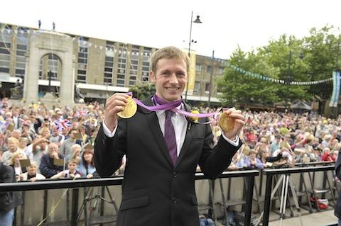 Jason Kenny in Bolton after London 2012