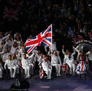 Peter Norfolk, who was the flag-bearer for ParalympicsGB at the opening cermony, is aiming for gold today