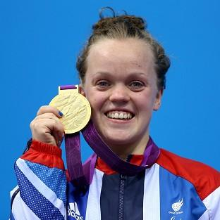 Ellie Simmonds is back in the p