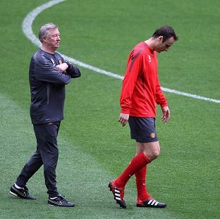 Dimitar Berbatov, right, admitted he lost respect for Sir Alex Ferguson, left, last season