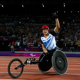 Double Paralympic champion David Weir is now targeting even more success