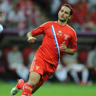 Roman Shirokov scored Russia's second from the penalty spot