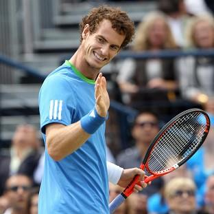 Andy Murray, pictured, defeated Novak Djokovic to claim his first grand slam with victory in the US Open final