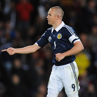 Kenny Miller was on target but it was a frustrating night for England