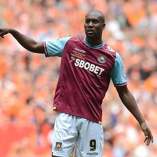 Carlton Cole came closest to scoring for the Hammers