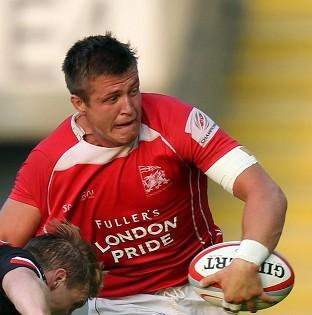 Ed Jackson late try helped set up a dramtic late win for London Welsh