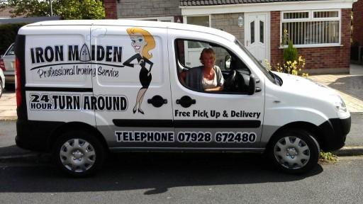 Ellen Grice has just started her Iron Maiden business