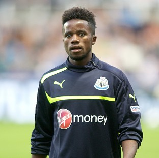 Gael Bigirimana, pictured, caught the eye of Newcastle boss Alan Pardew