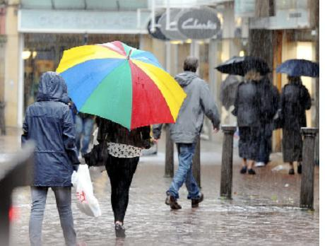 Prepare for flood risk after two weeks' rain falls in just one day