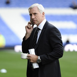 Alan Pardew has been handed an eight-y