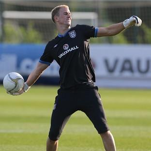 England goalkeeper Joe Hart will not rest on his laurels