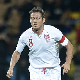 Frank Lampard's absence means Roy Hodgson will have to select a new captain