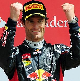 Mark Webber, pictured, took pole in Korea ahead of Sebastian Vettel, with Lewis Hamilton third