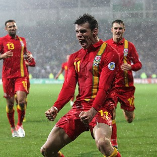 Manager Chris Coleman insists Wales are not overly reliant on Gareth Bale, centre.