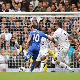 The Bolton News: Juan Mata scores his Chelsea's second goal