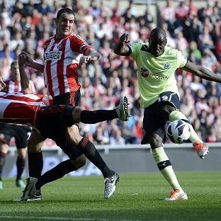 Demba Ba's own goal handed Sunderland a point in the Tyne-Wear derby