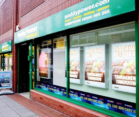 Paddy Power in Union Street, Accrington