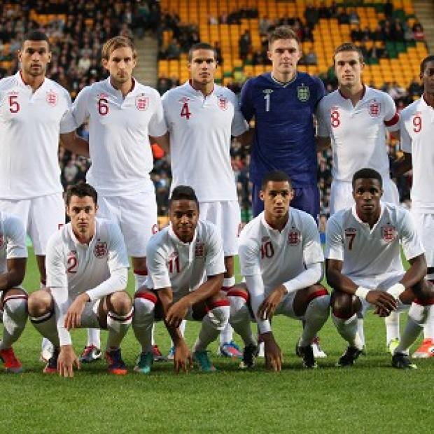 England Under-21s beat Serbia 1-0 before the unsavoury scenes