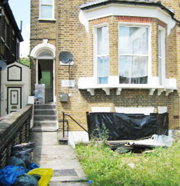 The Bolton News: BODY The house in Forest Hill, where Mr Corey's body was said to be stored