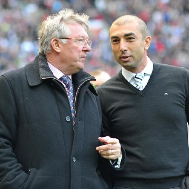 Alex Ferguson, left, and Roberto Di Matteo, right, pit their wits against each other this weekend