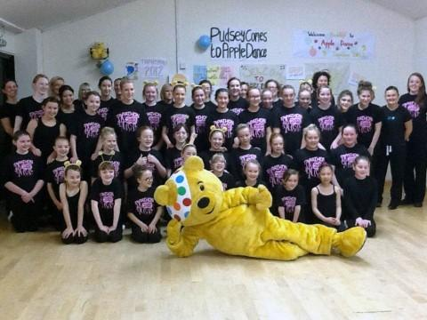 Pudsey taps into Children in Need dance