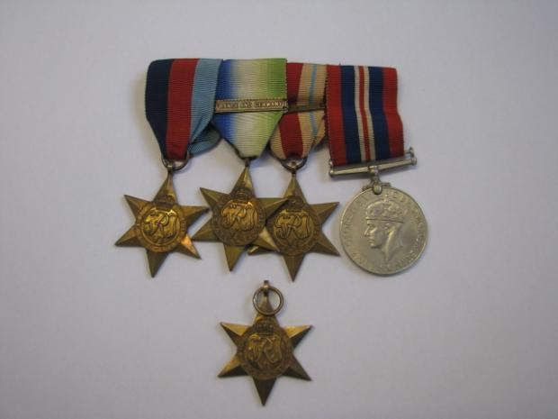 Second world war medals found in Bolton