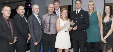 Police chief hands out awards to dedicated staff