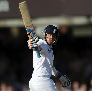 Ian Bell finished unbeaten on 116 as England closed out a series win in India