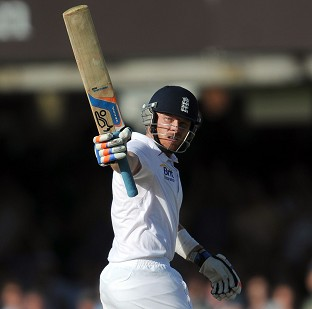 Ian Bell finished unbeaten on 116 as England closed out a series win in Ind