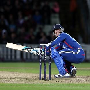 Jos Buttler's career-best 33 not out also included his trademark 'ramp' shot