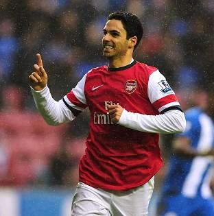 Mikel Arteta's second-half penalty was enough to earn three points for Arsenal