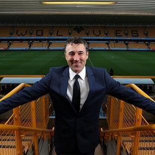 Dean Saunders, pictured, has succeeded Stale Solbakken as the Wolves manager