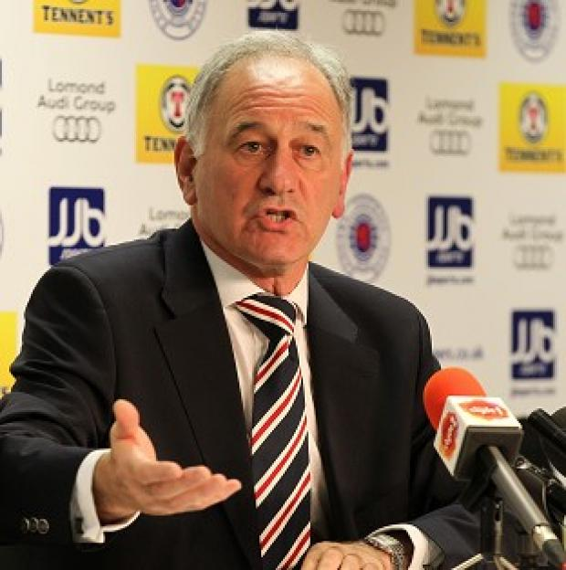 Charles Green says Rangers should have been included in league reconstruction talks