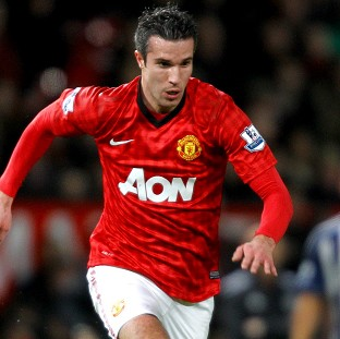 Arsene Wenger knew Robin van Persie, pictured, would shift the title battle in favour of Manchester United