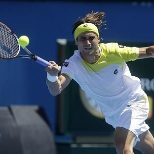 David Ferrer, pictured, did not have it all his own way against Tim Smyczek (AP)