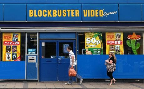 Blockbuster goes into administration