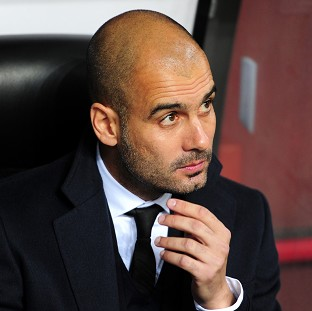 Bayern Munich's next manager Pep Guardiola hinted he could work in England in the future