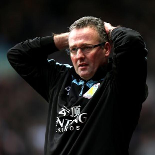Paul Lambert was disappointed Aston Villa let West Brom back in the game