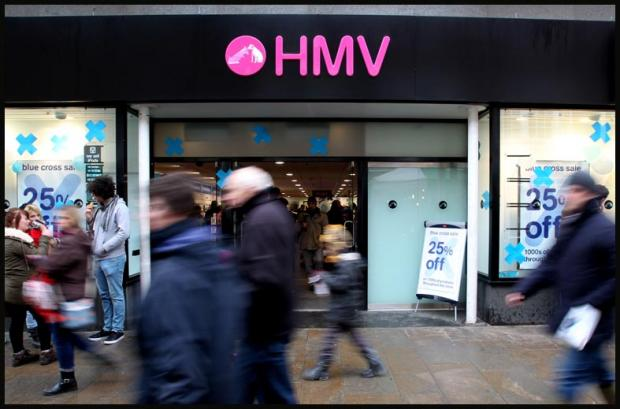 HMV gift vouchers set to be accepted again