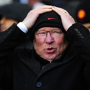 Manchester United boss Sir Alex Ferguson was disappointed with the match officials