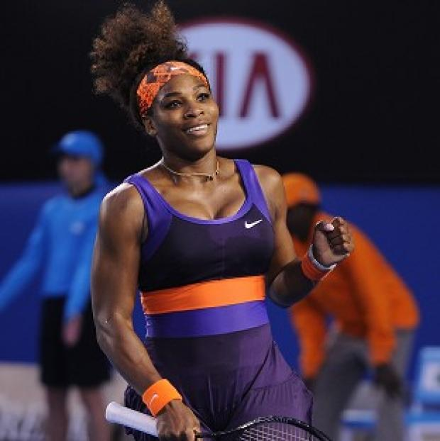 Serena Williams was in devastating form on Monday (AP)
