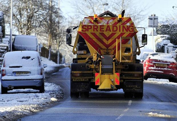 Gritters set to take to streets today