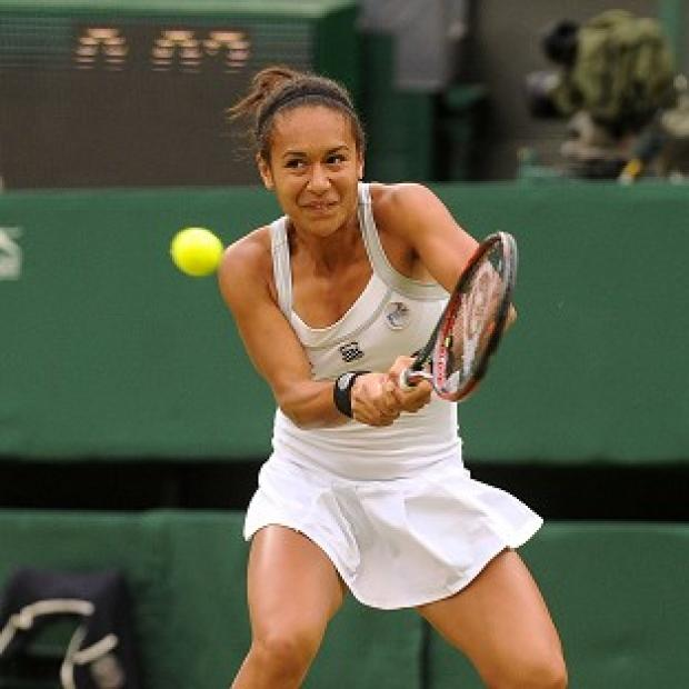 The Bolton News: Heather Watson recorded a comfortable victory over Timea Babos