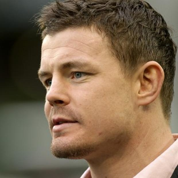 Brian O'Driscoll will start for Ireland at outside centre
