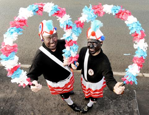 Members of the Britannia Coconit Dancers