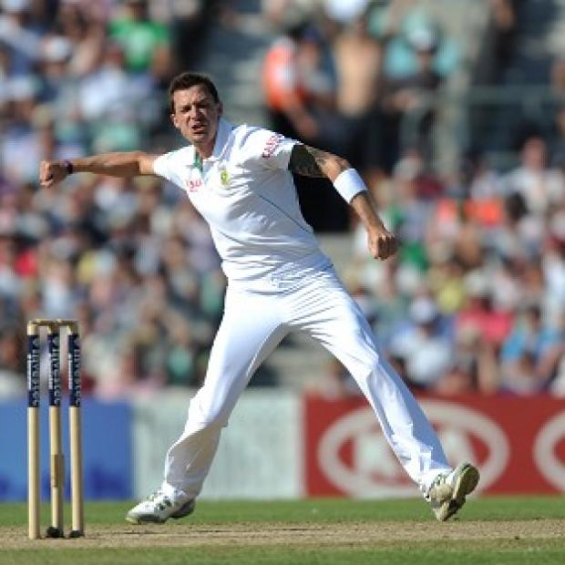 Dale Steyn was in blistering form for South Africa