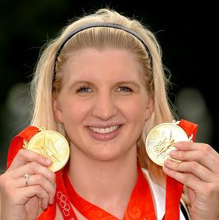 The Bolton News: Rebecca Adlington won two good medals in the pool at the Beijing Games in 2008