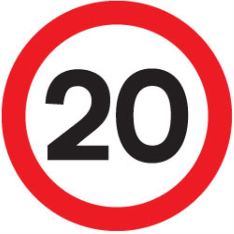 20mph zones to be introduced next month