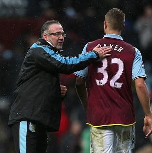 Manager Paul Lambert, left, hopes the win over West Ham will be the first of many