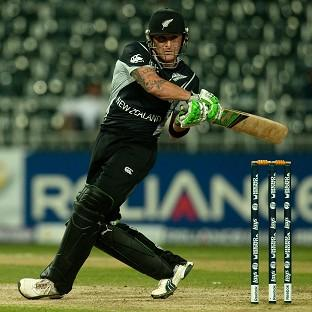 Brendon McCullum blasted 74 off 38 balls